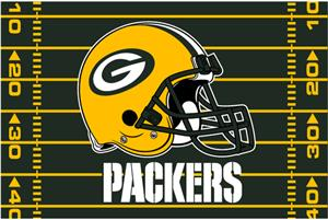 "Northwest NFL Green Bay Packers 39""x59"" Rugs"