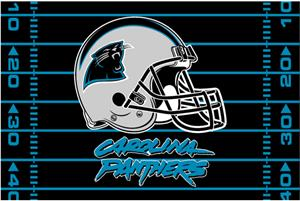 "Northwest NFL Carolina Panthers 39""x59"" Rugs"