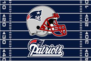 "Northwest NFL New England Patriots 39""x59"" Rugs"