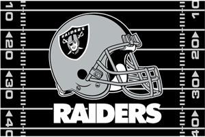 "Northwest NFL Oakland Raiders 39""x59"" Rugs"