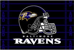 "Northwest NFL Baltimore Ravens 39""x59"" Rugs"