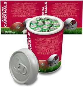Picnic Time NFL Arizona Cardinals Mega Can Cooler