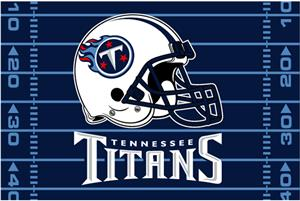 "Northwest NFL Tennessee Titans 39""x59"" Rugs"