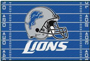 "Northwest NFL Detroit Lions 39""x59"" Rugs"