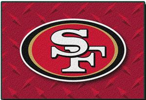 Northwest NFL San Francisco 49ers 20&quot;x30&quot; Rugs