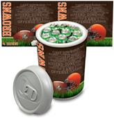 Picnic Time NFL Cleveland Browns Mega Can Cooler