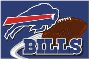 "Northwest NFL Buffalo Bills 20""x30"" Rugs"
