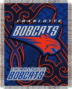 Northwest NBA Charlotte Bobcats 48x60 Woven Throw