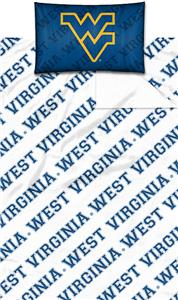 Northwest NCAA West Virginia Univ. Twin Sheet Set