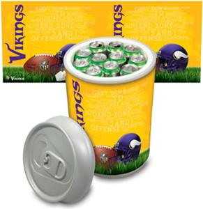 Picnic Time NFL Minnesota Vikings Mega Can Cooler