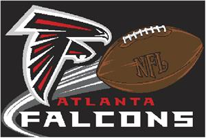 "Northwest NFL Atlanta Falcons 20""x30"" Rugs"