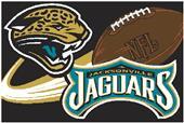 """Northwest NFL Jacksonville Jaguars 20""""x30"""" Rugs"""