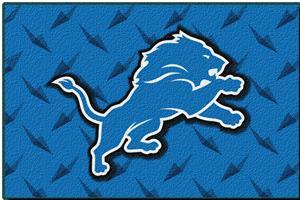 "Northwest NFL Detroit Lions 20""x30"" Rugs"