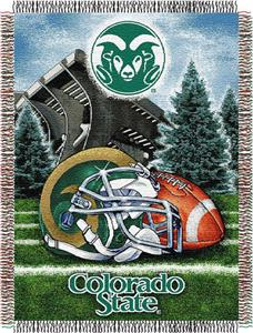 Northwest NCAA Colorado State HFA Tapestry Throw