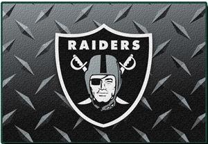 "Northwest NFL Oakland Raiders 20""x30"" Rugs"