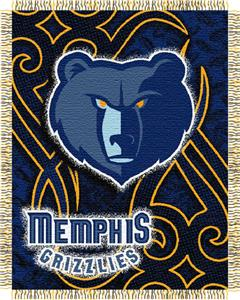 Northwest NBA Memphis Grizzlies 48x60 Woven Throw