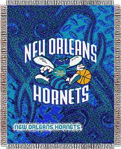 "Northwest NBA New Orleans Hornets 48""x60"" Throws"