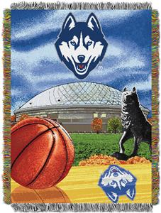 Northwest NCAA UConn HFA Tapestry Throw