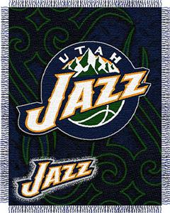 "Northwest NBA Utah Jazz 48""x60"" Woven Throw"