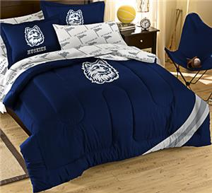Northwest NCAA Connecticut Full Bed in Bag Set