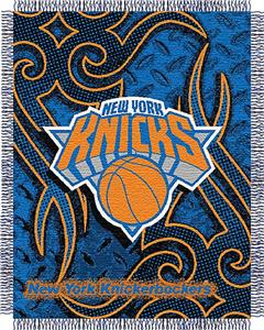 Northwest NBA New York Knicks 48&quot;x60&quot; Woven Throw