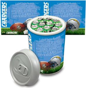 Picnic Time NFL San Diego Chargers Mega Can Cooler