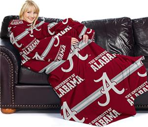 Northwest NCAA Alabama Comfy Throw (Stripes)