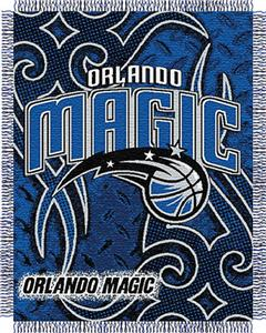 "Northwest NBA Orlando Magic 48""x60"" Woven Throw"