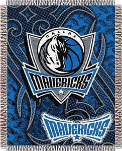 "Northwest NBA Dallas Mavericks 48""x60"" Woven Throw"