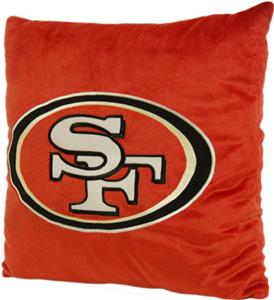 "Northwest NFL San Francisco 49ers 16""x16"" Pillows"