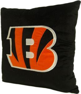 "Northwest NFL Cincinnati Bengals 16""x16"" Pillows"