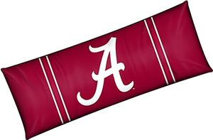 Northwest NCAA University of Alabama Body Pillow