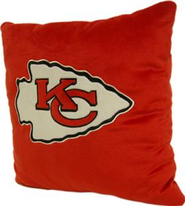 "Northwest NFL Kansas City Chiefs 16""x16"" Pillows"