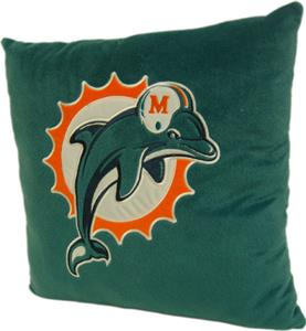 "Northwest NFL Miami Dolphins 16""x16"" Pillows"