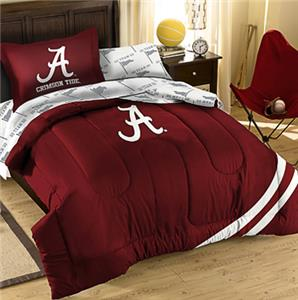 Northwest NCAA Univ of Alabama Twin Bed in Bag Set