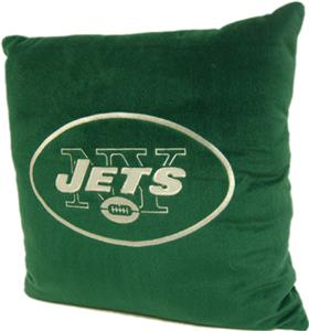 "Northwest NFL New York Jets 16""x16"" Pillows"