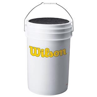 Wilson Ball Bucket with Cushion Lid WTA3948