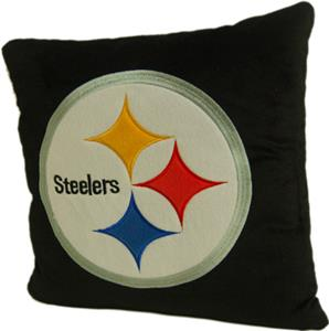 "Northwest NFL Pittsburgh Steelers 16""x16"" Pillows"