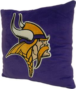 "Northwest NFL Minnesota Vikings 16""x16"" Pillows"