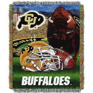 Northwest NCAA Colorado Univ. HFA Tapestry Throw
