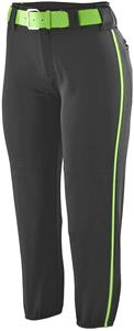 Augusta Ladies/Girls Low Rise Collegiate Pant