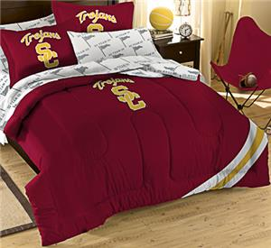 Northwest NCAA USC Full Bed in Bag Set