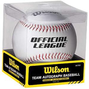 Wilson A6700 Oversized Team Autograph Baseball
