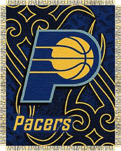 "Northwest NBA Indiana Pacers 48""x60"" Woven Throw"