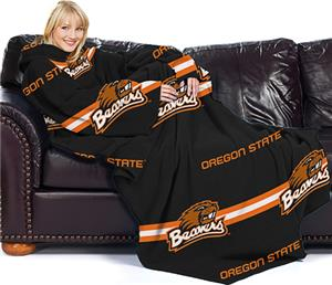Northwest NCAA Oregon State Comfy Throw -Stripes