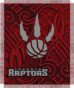 "Northwest NBA Toronto Raptors 48""x60"" Woven Throw"