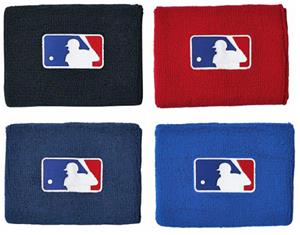 Wilson MLB 4&quot; baseball wristbands WTA6630