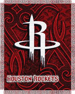 "Northwest NBA Houston Rockets 48""x60"" Woven Throw"