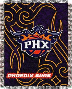 "Northwest NBA Phoenix Suns 48""x60"" Woven Throw"