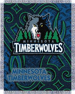 "Northwest NBA Minnesota Timberwolves 48""x60"" Throw"